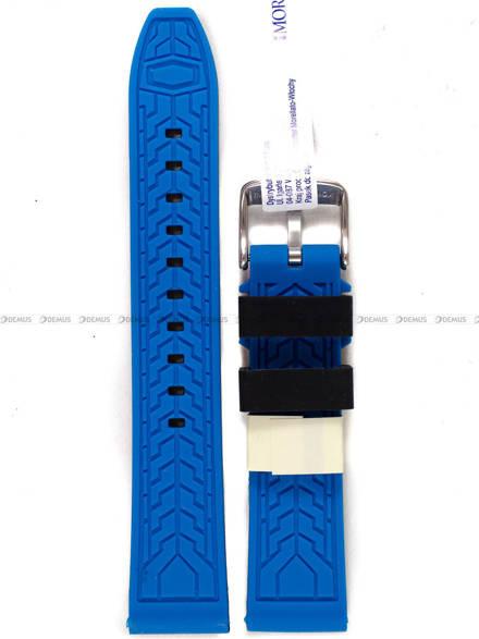 Pasek silikonowy do zegarka - Morellato A01X4797187865 - 20 mm