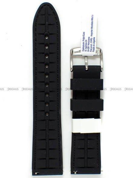 Pasek silikonowy do zegarka - Morellato A01X5275187883CR22 - 22 mm