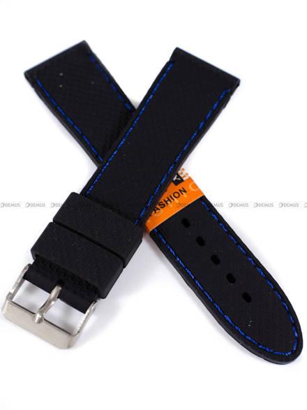 Pasek silikonowy do zegarka - SBR22.22.1.5 - 22 mm