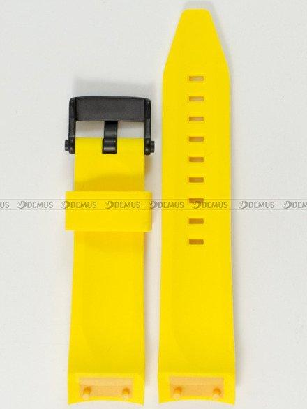 Pasek silikonowy do zegarka Vostok Lunokhod TM3603-6204205 - 25 mm
