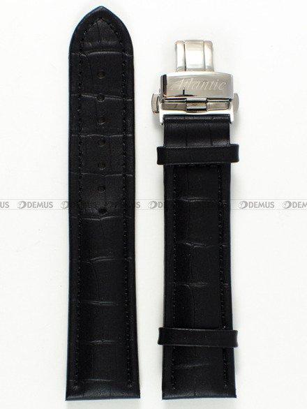 Pasek skórzany do zegarka Atlantic - ATL.L262.01.22KS - 22 mm