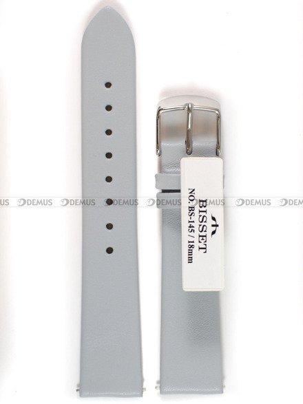 Pasek skórzany do zegarka Bisset - BS-145 - 18 mm