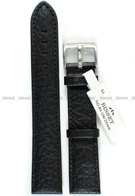 Pasek skórzany do zegarka Bisset BS-156 - 20 mm - XL