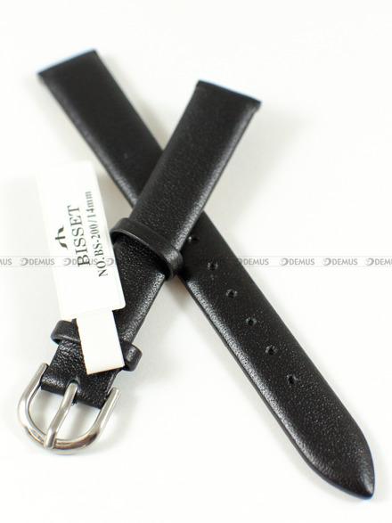 Pasek skórzany do zegarka Bisset - BS-200 - 14 mm