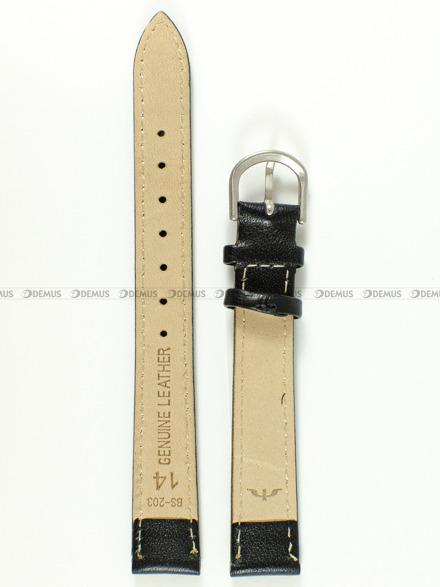 Pasek skórzany do zegarka Bisset - BS-203 - 14 mm