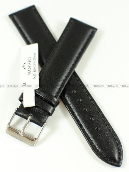 Pasek skórzany do zegarka Bisset BS-205 - 20 mm