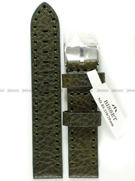 Pasek skórzany do zegarka Bisset BS-210 - 20 mm