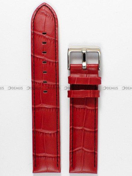 Pasek skórzany do zegarka Bisset - PB13.20.4 - 20 mm