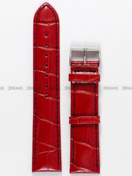 Pasek skórzany do zegarka Bisset - PB21.20.4 - 20 mm