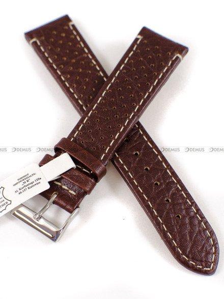 Pasek skórzany do zegarka Bisset - PB55.20.2.7 - 20 mm