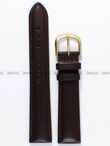 Pasek skórzany do zegarka Bisset - PB73.18.2 - 18 mm