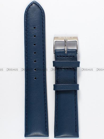 Pasek skórzany do zegarka Bisset - PB77.20.5 - 20 mm