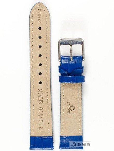 Pasek skórzany do zegarka Condor 285R.05.18.W - 18 mm