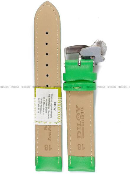 Pasek skórzany do zegarka - Diloy 302.18.11 - 18mm