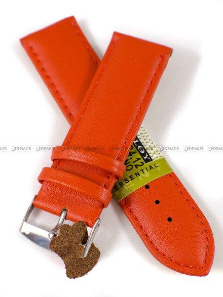 Pasek skórzany do zegarka - Diloy 302.24.12 - 24mm