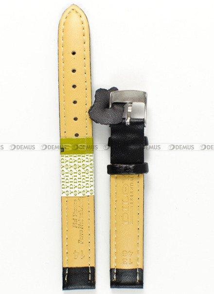 Pasek skórzany do zegarka - Diloy 302EL.14.1 - 14mm