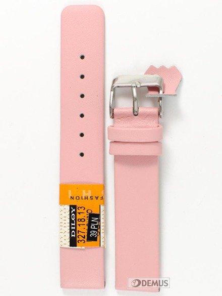 Pasek skórzany do zegarka - Diloy 327.18.13 - 18mm