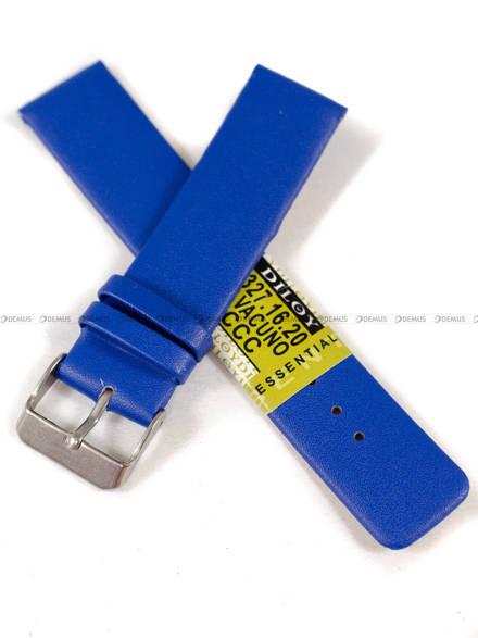 Pasek skórzany do zegarka - Diloy 327.20.16 - 20mm
