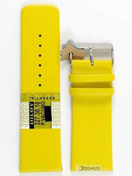Pasek skórzany do zegarka - Diloy 327.30.10 - 30 mm