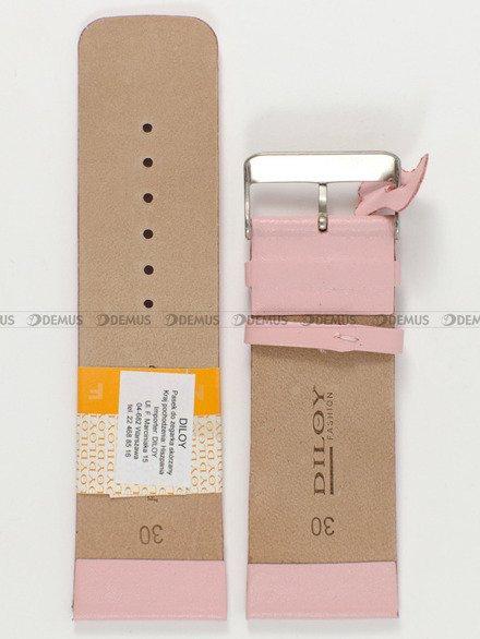 Pasek skórzany do zegarka - Diloy 327.30.13 - 30mm