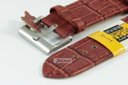 Pasek skórzany do zegarka - Diloy 361.24.8 - 24mm
