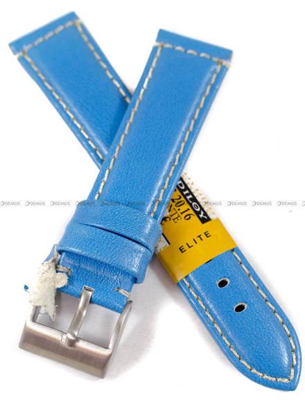 Pasek skórzany do zegarka - Diloy 363.20.16 - 20 mm