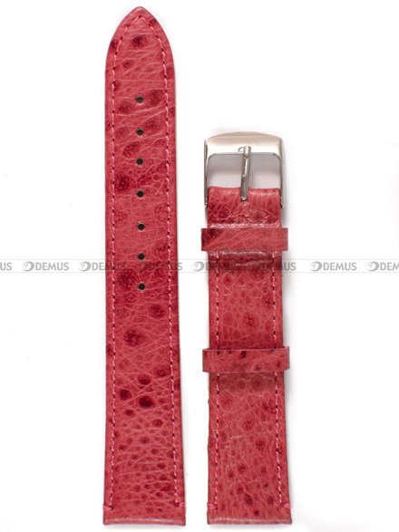 Pasek skórzany do zegarka - Diloy 365.18.18 - 18 mm