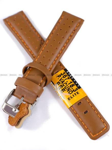 Pasek skórzany do zegarka - Diloy 367.18.3 - 18mm