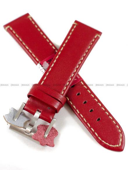 Pasek skórzany do zegarka - Diloy 373.20.6 - 20 mm