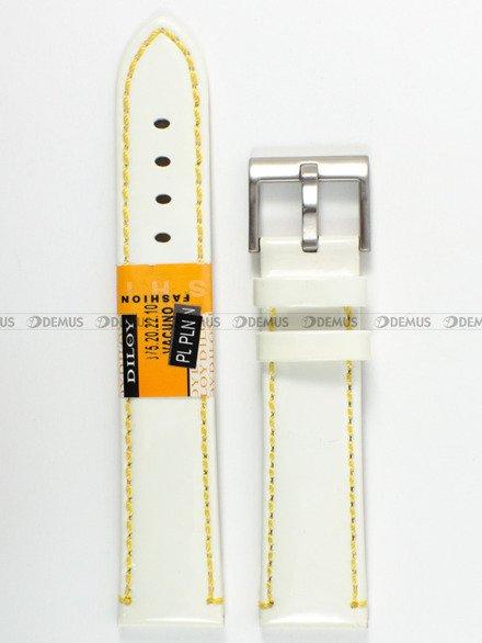 Pasek skórzany do zegarka - Diloy 375.20.22.10 - 20 mm