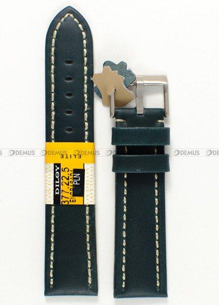 Pasek skórzany do zegarka - Diloy 377.22.5 - 22 mm