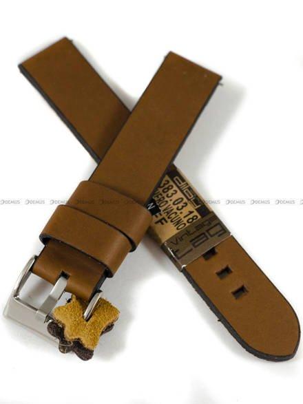 Pasek skórzany do zegarka - Diloy 383.18.3 - 18mm