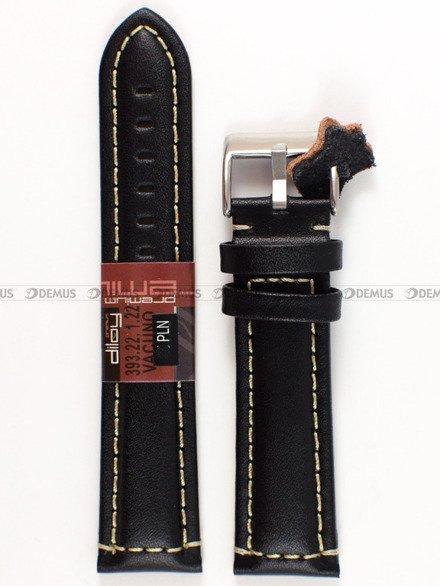 Pasek skórzany do zegarka - Diloy 393.22.1.22 - 22 mm