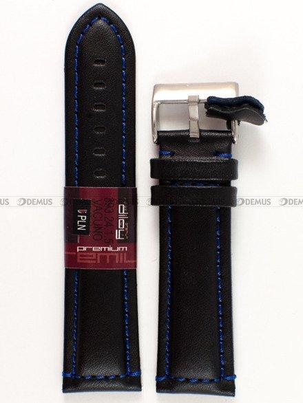 Pasek skórzany do zegarka - Diloy 393.24.1.5 - 24 mm