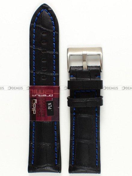 Pasek skórzany do zegarka - Diloy 395.24.1.5 - 24 mm