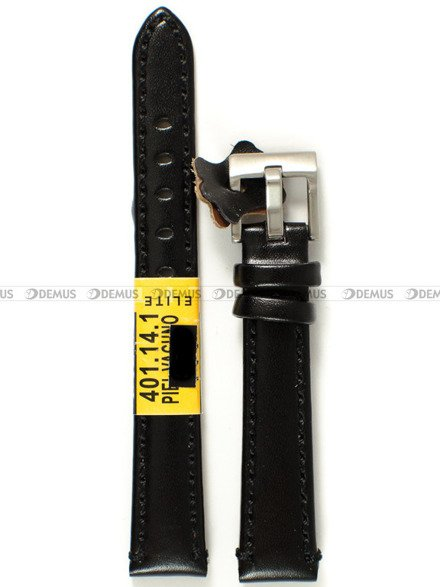 Pasek skórzany do zegarka - Diloy 401.14.1 - 14 mm
