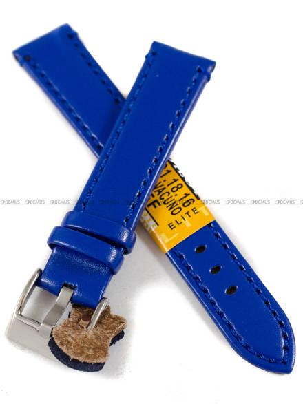 Pasek skórzany do zegarka - Diloy 401.18.16 - 18 mm
