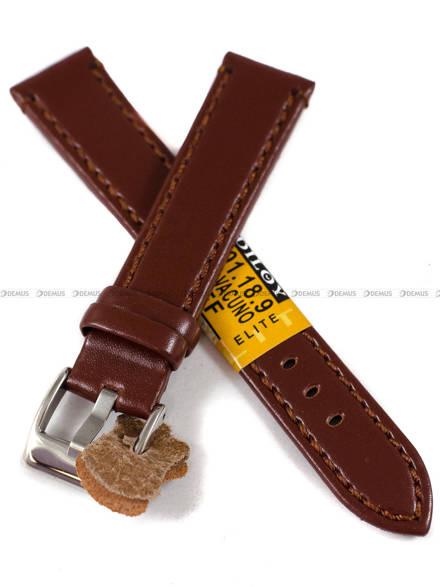 Pasek skórzany do zegarka - Diloy 401.18.9 - 18 mm