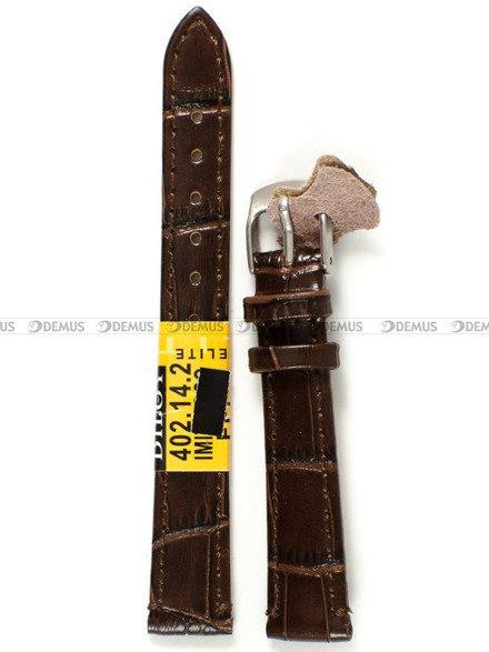 Pasek skórzany do zegarka - Diloy 402.14.2 - 14 mm