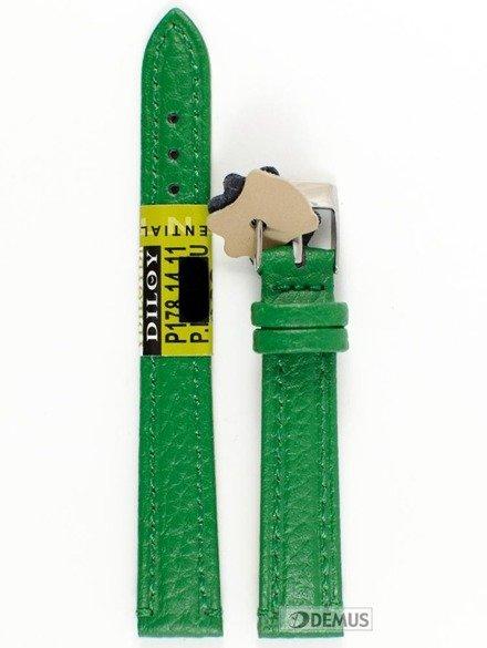 Pasek skórzany do zegarka - Diloy P178.14.11 - 14 mm