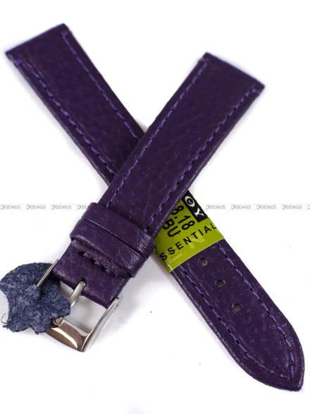 Pasek skórzany do zegarka - Diloy P178.18.18 - 18 mm