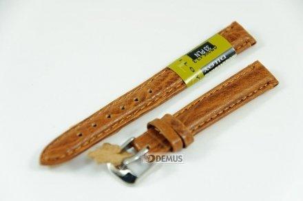 Pasek skórzany do zegarka - Diloy P205.12.3 - 12 mm