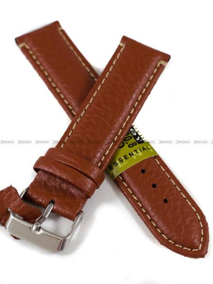Pasek skórzany do zegarka - Diloy P206.20.8 - 20 mm