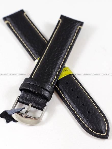 Pasek skórzany do zegarka - Diloy P206EL.20.1 - 20 mm