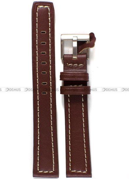 Pasek skórzany do zegarka - Diloy P353.18.9 - 18 mm