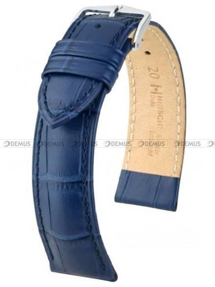 Pasek skórzany do zegarka - Hirsch Duke 01028080-2-18 - 18 mm - L