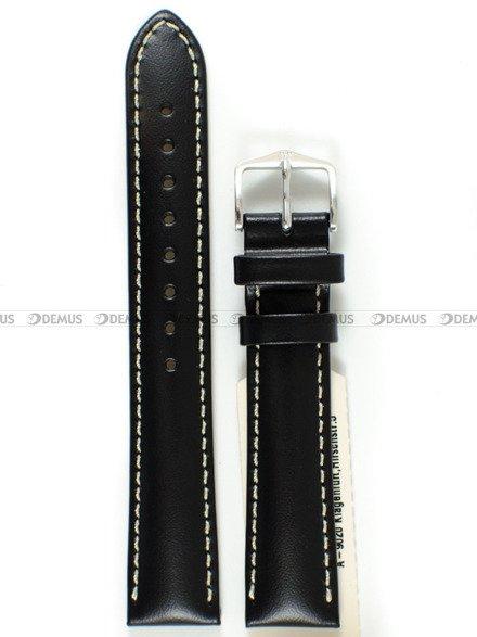 Pasek skórzany do zegarka - Hirsch Trooper 03002050-2-18 - 18 mm