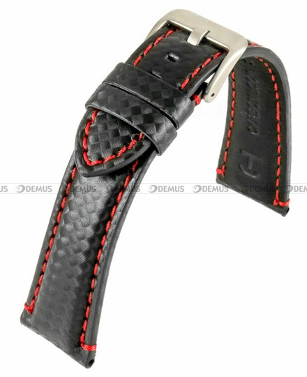 Pasek skórzany do zegarka - Horido 0167.01R.22S - 22 mm