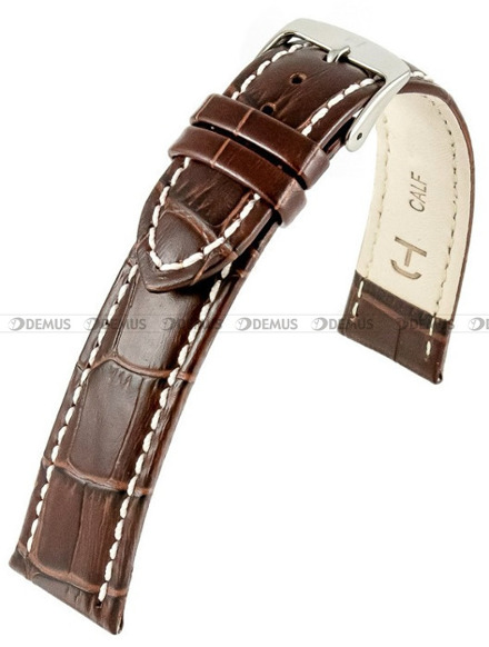 Pasek skórzany do zegarka - Horido 0182L.02.22S - 22 mm