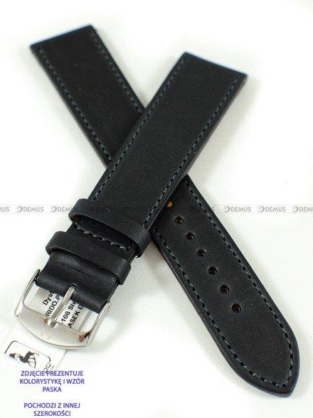 Pasek skórzany do zegarka - Horido 9201SL.01.20S - 20 mm